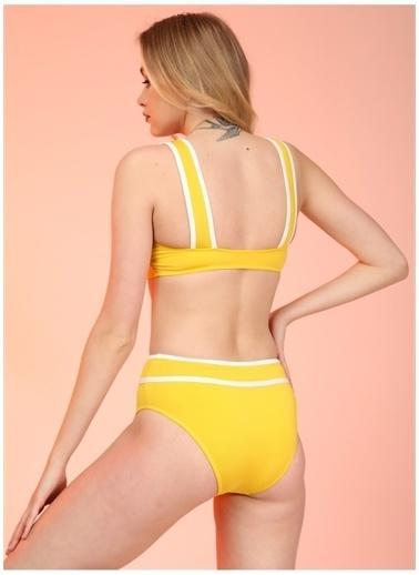 Bellisa Bellisa Sarı Bikini Takım Sarı